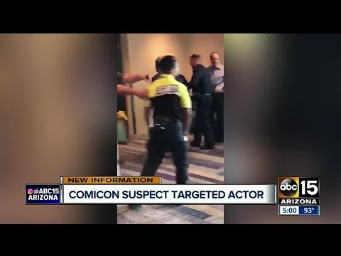 Armed man at Phoenix Comicon allegedly targeting actor
