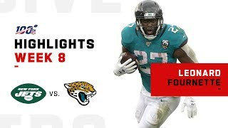 Leonard Fournette Weaves Through Jets w/ 136 Total Yards | NFL 2019 Highlights