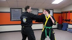 Martial Arts Fighting Strategy: Offensive Defense