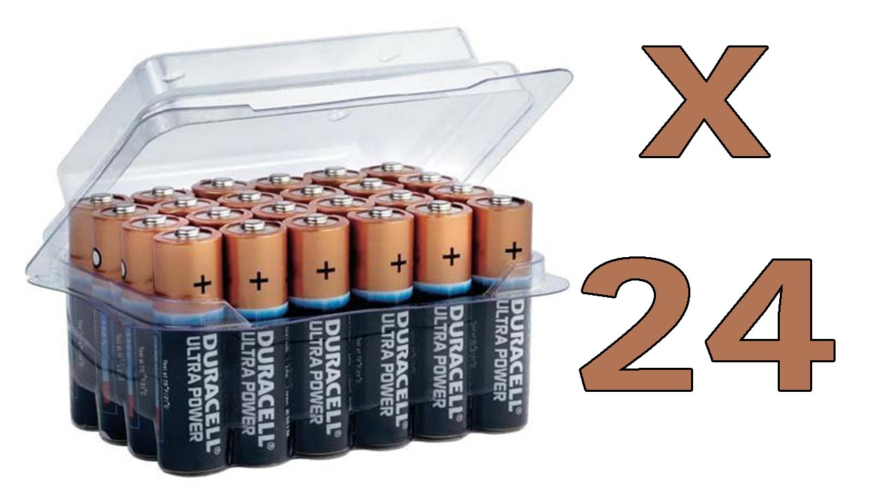 Batterie Aa Duracell Ultra Power Mx1500 Mn1500 Aa Mignon Batterie 24 Pack
