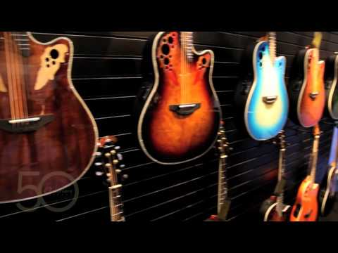 Ovation Guitars Booth Tour NAMM 2016