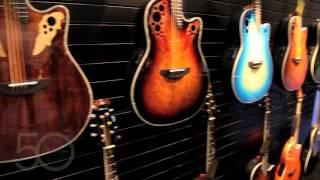 Ovation Guitars Booth Tour NAMM 2016
