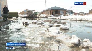 Как в посёлках Новосибирской области справляются с паводками