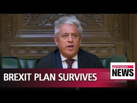 British PM survives key Brexit vote