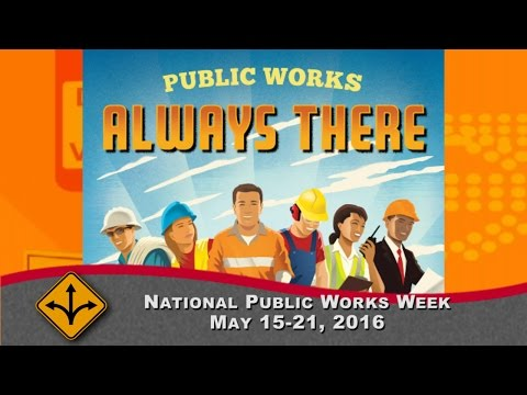 """2016 APWA Florida Chapter Video Intro to """"So Community Works Better"""""""