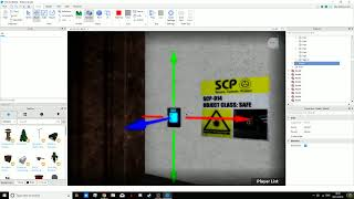 Building SCP Secret Labratory  Roblox Studio
