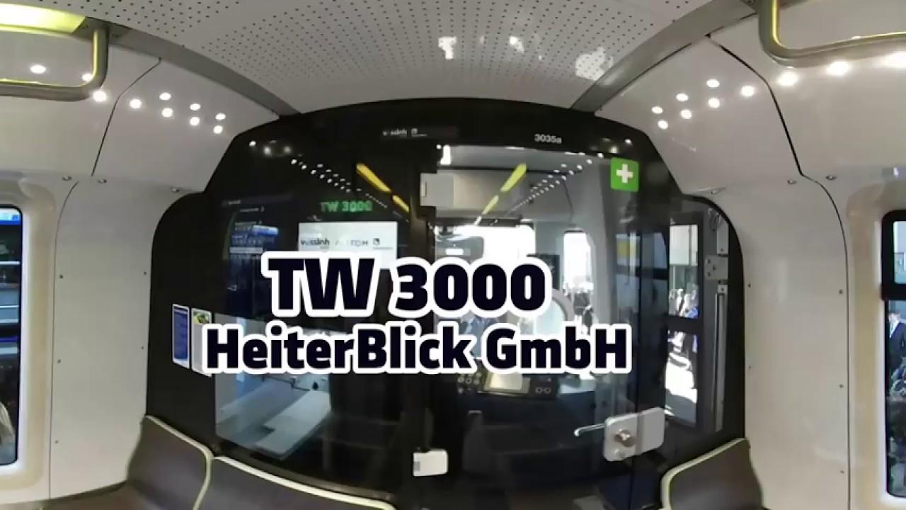 TW 3000 - Vossloh , Alstom Transport , Heiterblick - VR 360