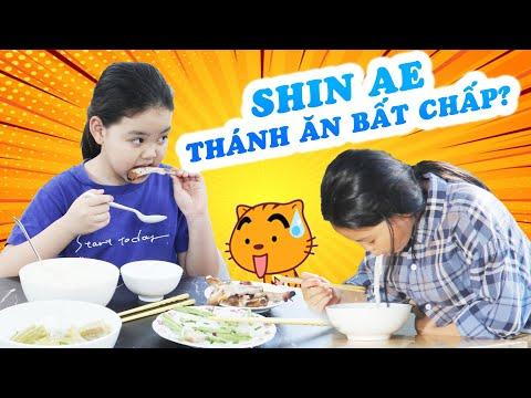 Tổng hợp những lần ăn uống bất chấp của Shin Ae Việt Nam khiến ai xem cũng phải