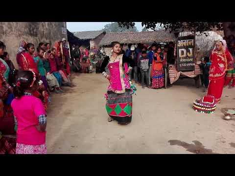 new tharu dance (bardiya nepal)