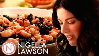 Nigella Lawson's Prawn and Black Rice Salad with Vietnamese Dressing | Forever Summer with Nigella