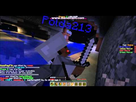 Minecraft: Annihilation hacker [Polda213] (Oaza) CZ/SK