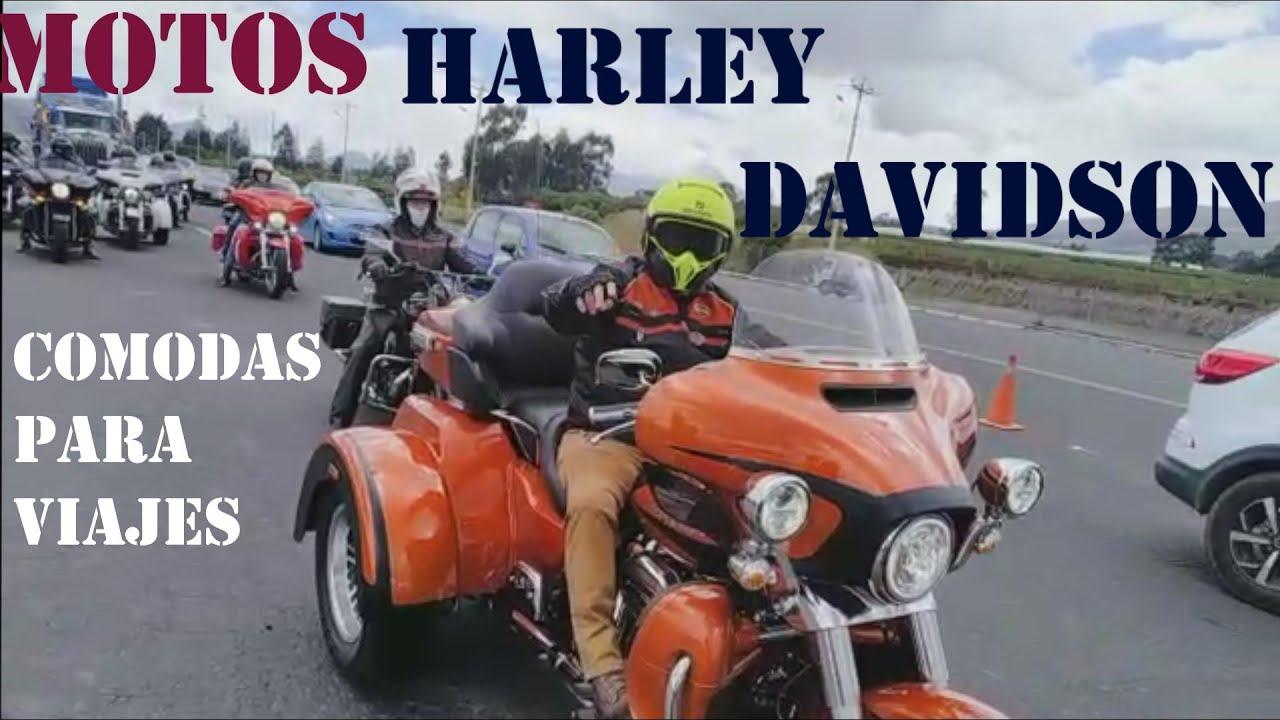 Las mejores Motos HARLEY DAVIDSON para viajes MOTOR 1600 cc 142 newton de torques CAP 11