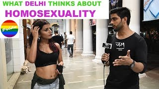 What Delhi Thinks About HOMOSEXUALITY | Public Hai Ye Sab Janti Hai | JM#JEHERANIUM