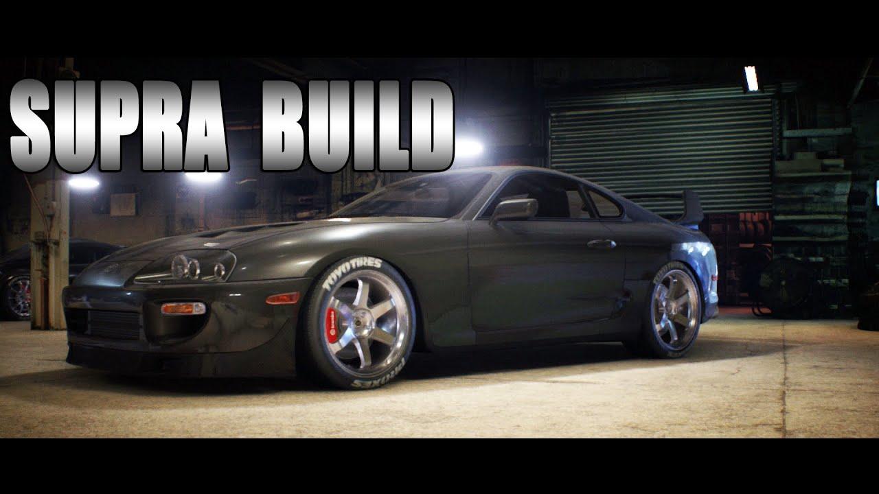 Toyota Supra 2015 >> Need For Speed 2015 Toyota Supra Build Racing Gameplay