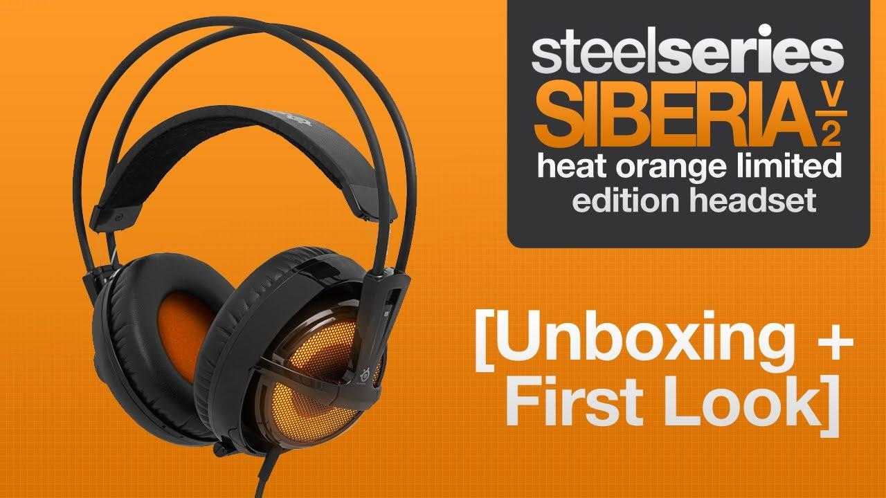 SteelSeries Siberia v2 Heat Orange Headset Driver