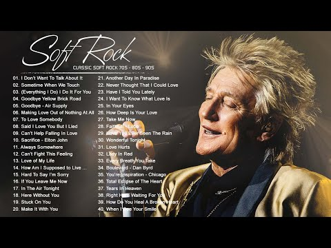 Michael Bolton, Phil Collins, Rod Stewart, Chicago, Bee Gees - Best Soft Rock 70s,80s,90s