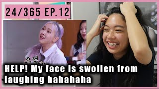 24/365 with Hilarious BLACKPINK EP. 12 | Reaction