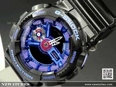Casio G-SHOCK S-Series World time Unisex Watch GMA-S110HC-1A ... dea791f2c
