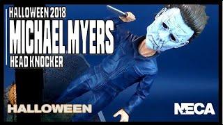 NECA Halloween 2018 Head Knockers Michael Myers | Video Review HORROR