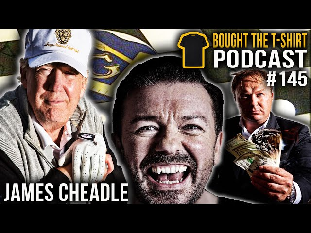The Dark Side Of Celebrity | James Cheadle | Bought The T-Shirt Podcast #145