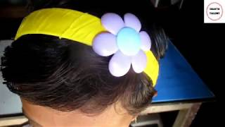 DIY || Hair bands Make With Plastic Bottle || Best out of waste crafts idea || Crafts Talent.