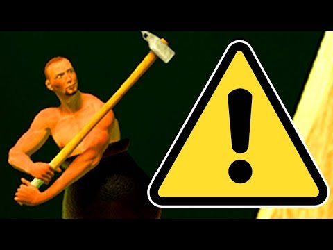 Thumbnail: THIS GAME IS THE TRUE MEANING OF SUFFERING. / Getting Over It / #1