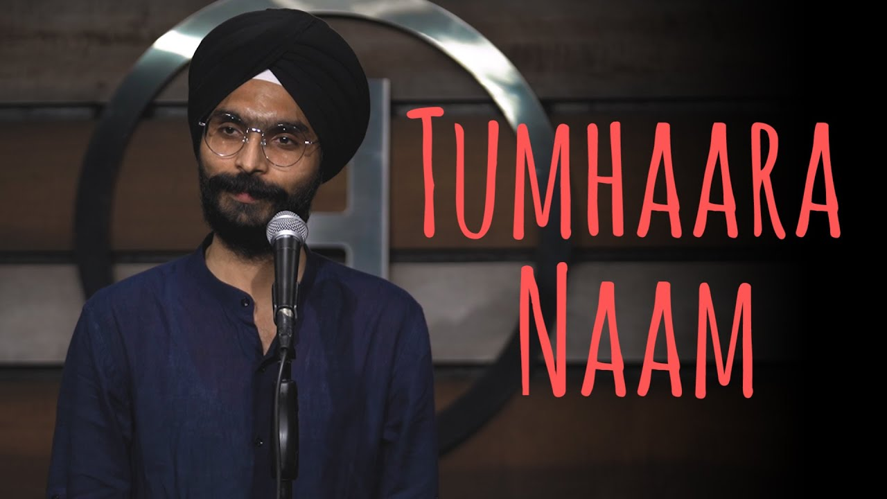 """Tumhaara Naam"" - Amandeep Singh ft Samuel | UnErase Poetry"