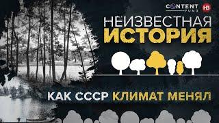 Подчинить деревья и развернуть реки Как СССР бросил вызов природе и пытался менять климат