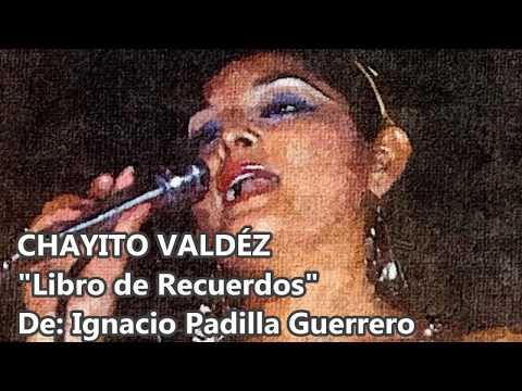 "CHAYITO VALDEZ ""LA REINA"" CON TAMBORA - LIBRO DE RECUERDOS"