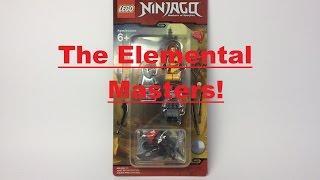 "LEGO Ninjago Hands Of Time: Review- ""853687 Elemental Masters Battlepack!"""