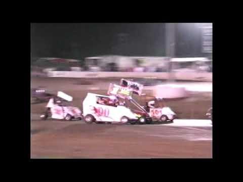 connor Ceraldi Cowtown Speedway 2005 go karts
