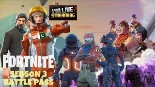 Fortnite BT Season 3 Battle Pass . Pakistan