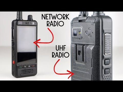 Anysecu W5 Network Radio & UHF Radio Hybrid! It Actually Works!
