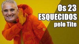 23 ESQUECIDOS DO TÉCNICO TITE (sátira)