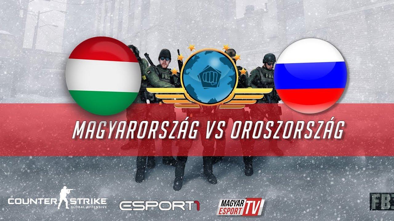 CS:GO VB 2015   Magyarország vs. Oroszország   Bo3