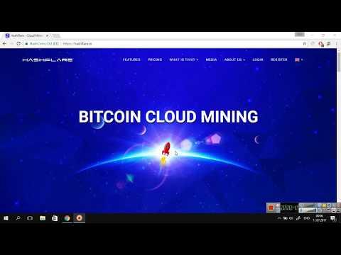 Hashflare.io- Az pul yatır çox qazan-Bitcoin mining ilə qazanc