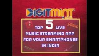 5 BEST ONLINE MUSIC STREAMING APPS FOR ANDROID, IOS, WINDOWS IN INDIA