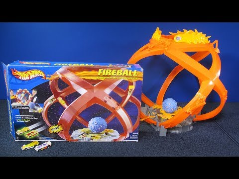 Fireball Raceway Hot Wheels Track Set Insane Speeds and Crashes! Fun Kid's Toys Review