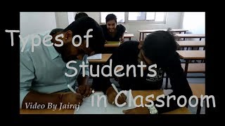 Types of Students in Classroom