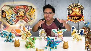 Treasure X Quest For Dragon Gold Deluxe Dragon Figure 10 Levels Of Adventure
