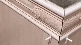 Укладка плитки. как делать декоративную вставку 45 угол