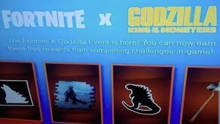 Fortnite x Godzilla Leaked! Fortnite Godzilla Collab Leaked