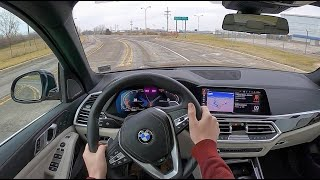 2020 BMW X5 xDrive40i - POV Test Drive (Binaural Audio)