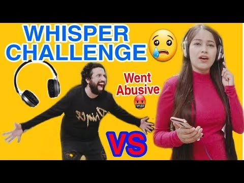 Download Crazy Whisper Challenge Went Abusive 🤬Never Going to play this game|Mr. And Mrs. Prince