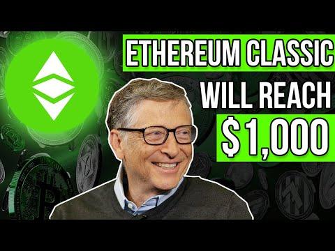 Bill Gates Invests: ETHEREUM CLASSIC WILL EXPLODE! Etc Price Prediction U0026 Etc News 2021