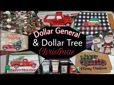 Dollar General And Dollar Tree Christmas + New Items At DT