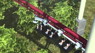 Four injured in LA roller coaster derailment