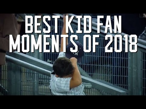 Top young fan moments at MLB games during 2018 season