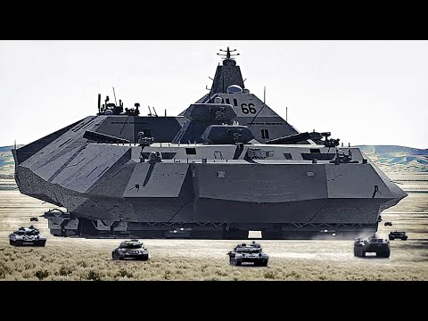 15 Biggest Military Machines Ever Made !