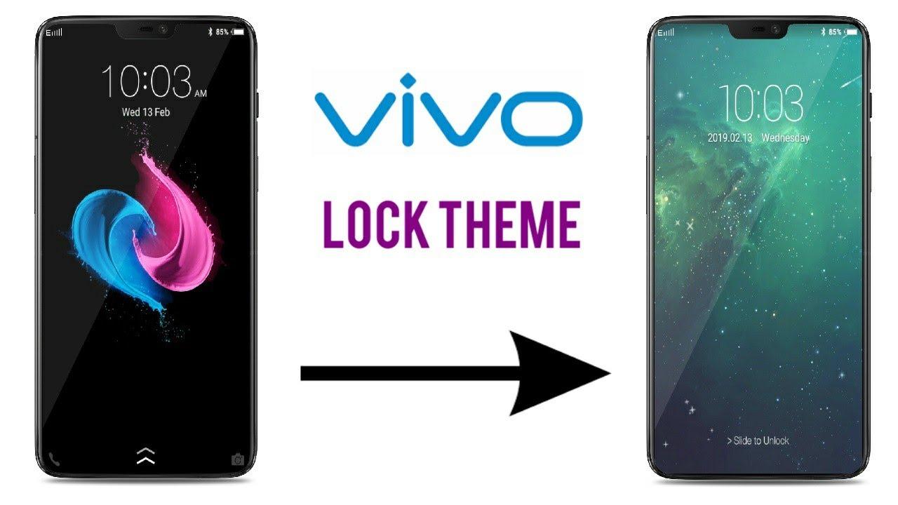 VIVO Lock Theme (FunTouch OS) : iOS | V11, V15 Pro